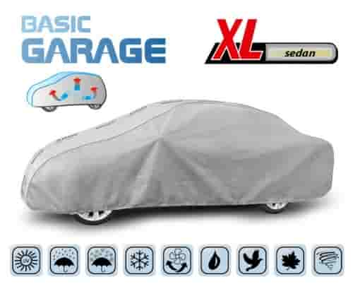 Protective Car Cover Complete To Suit Large Saloon Car