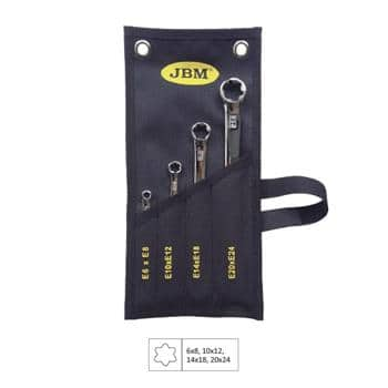 JBM-51747 Set Of 4 Torx Spanners