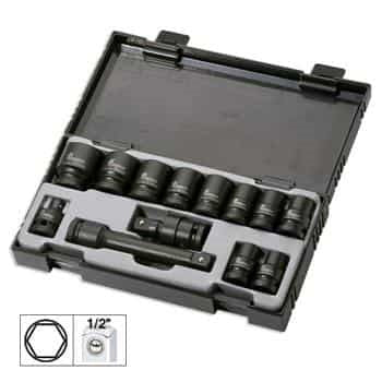 JBM-52341 Impact Socket Set Hexagonal 13pc