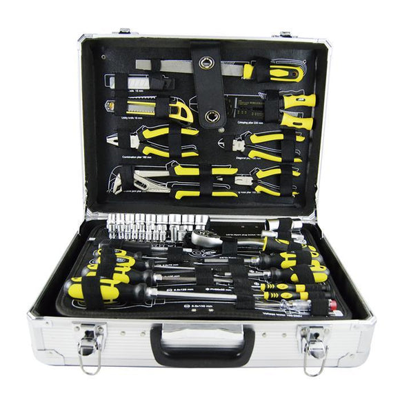 JBM-53158 Aluminium Brief Case Tool Set 108pcs