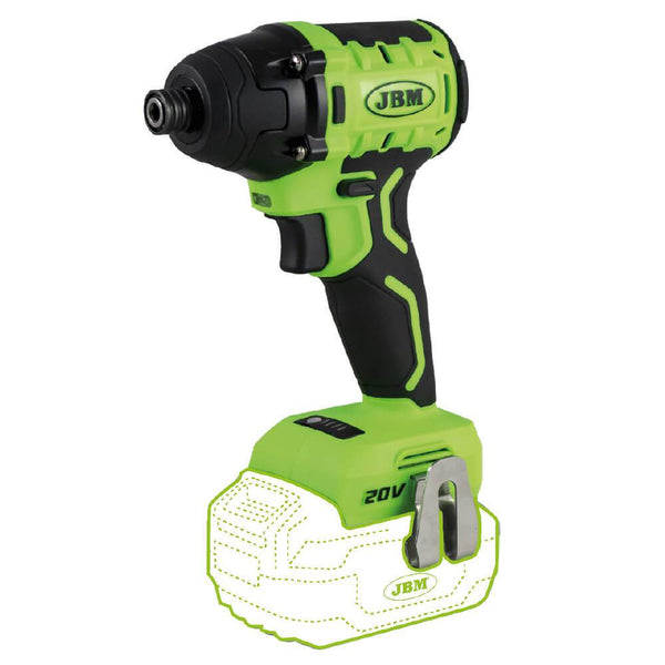 Compact Brushless Impact Driver 200Nm 20V Variable Speed Body Only - Sweeney Motor Factors