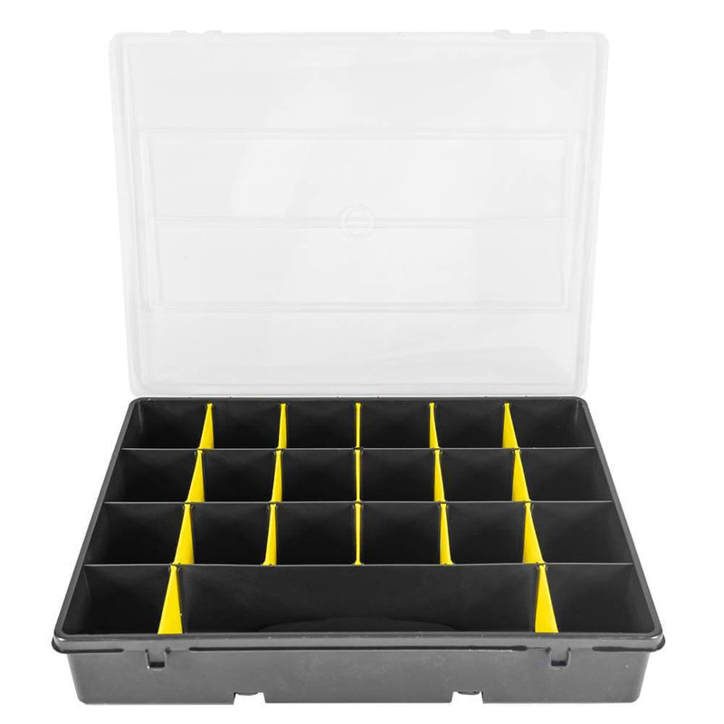 Small Parts Storage Container With 19 Compartments - Sweeney Motor Factors