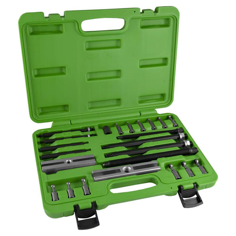 Ball Bearing Puller Kit With Ball Ends Adapters 23pc Ball Type Bearings