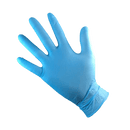 Blue Nitrile Gloves Heavy Duty Box of 100