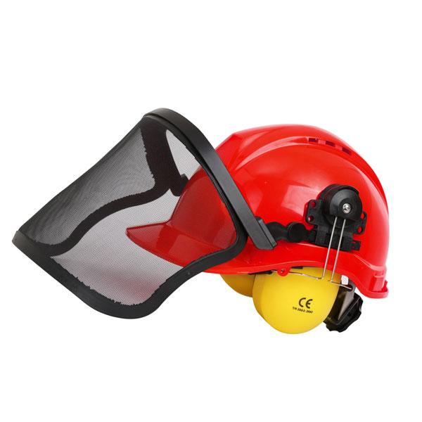 Safety Helmet With Face Shield And Ear Muffs  - Sweeney Motor Factors