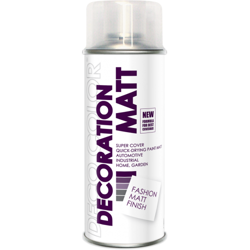 Decoration Matt Spray Paint Clear 400ml - Deco Color Ireland