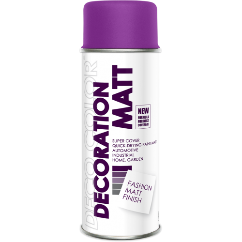 Decoration Matt Spray Paint Fucsia 400ml - Deco Color Ireland