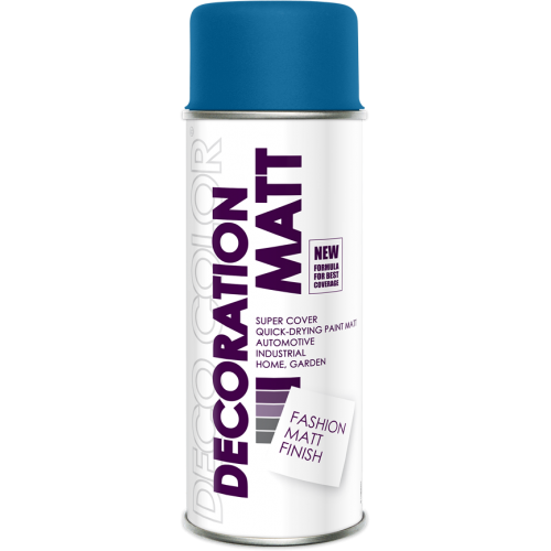 Decoration Matt Spray Paint Dark Blue 400ml - Deco Color Ireland