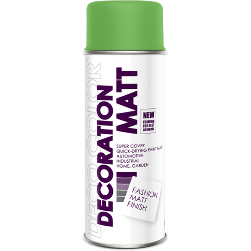 Decoration Matt Spray Paint Green 400ml - Deco Color Ireland