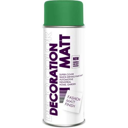 Decoration Matt Spray Paint Dark Green 400ml - Deco Color Ireland