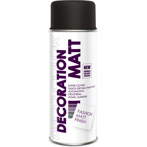 Decoration Matt Spray Paint Brown 400ml - Deco Color Ireland