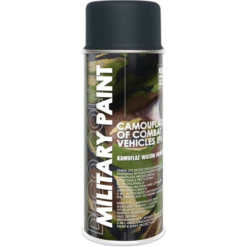 Military Spray Paint Anti Reflective Camouflage 400ml Anthracite - Deco Color Ireland