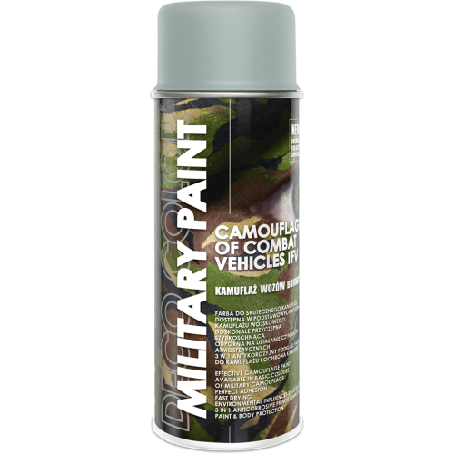 Military Spray Paint Anti Reflective Camouflage 400ml Grey - Deco Color Ireland