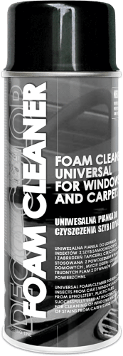 Foam Cleaner Carpets & Windows 400ml - Deco Color Ireland
