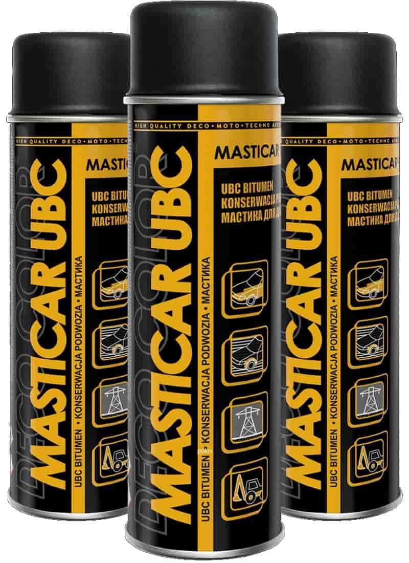 Masticar UBC Bitumen Under Body Seal 500ml