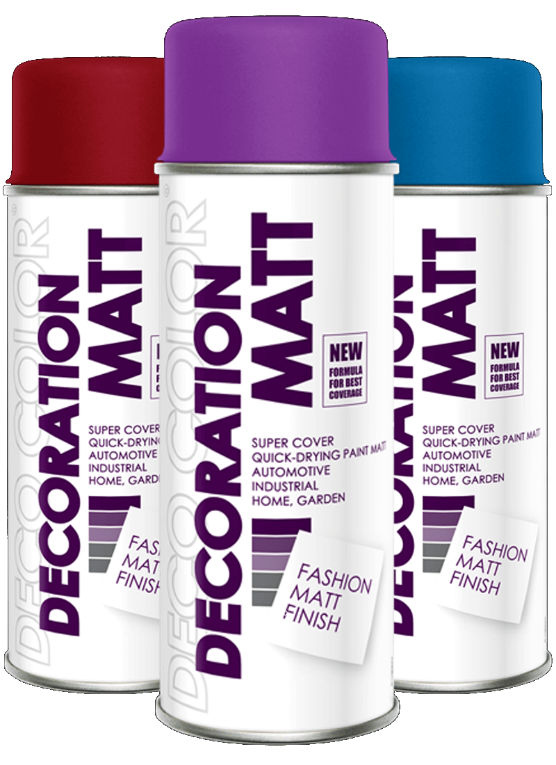 Decoration Matt Spray Paint 20 Different Colours 400ml - Deco Color Ireland