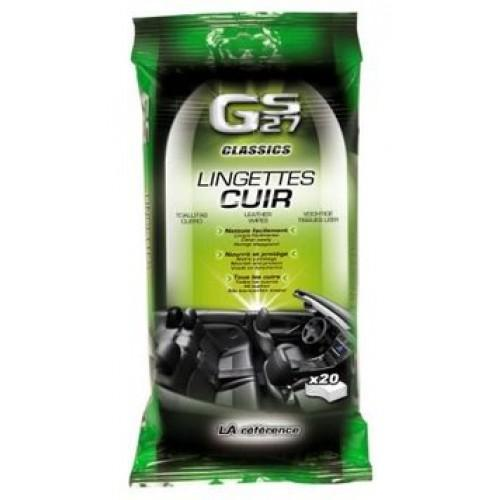 GS27-Leather Wipes 20 u Packet - Sweeney Motor Factors