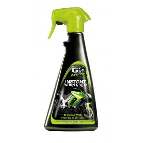 GS27-Moto Instant Wash And Wax 500 ml - Sweeney Motor Factors