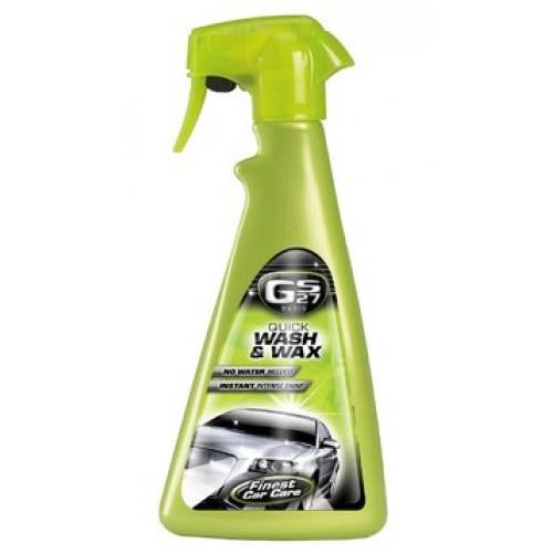 GS27-Quick Wash And Wax 500 ml