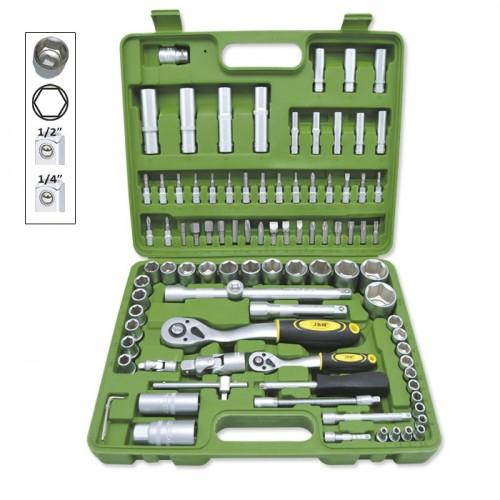 JBM-50437 94pc Socket Set Hexagonal