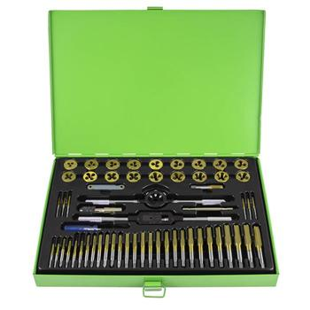 JBM-50792 58pc Tap and Die Set Titanium Coated