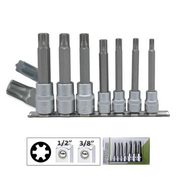 "JBM-50980 Set Of 7 Ribes In 1/2"" And 3/8"" Drive"