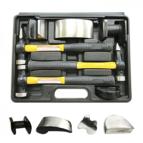 JBM-51131 7pc Panel Beating Set