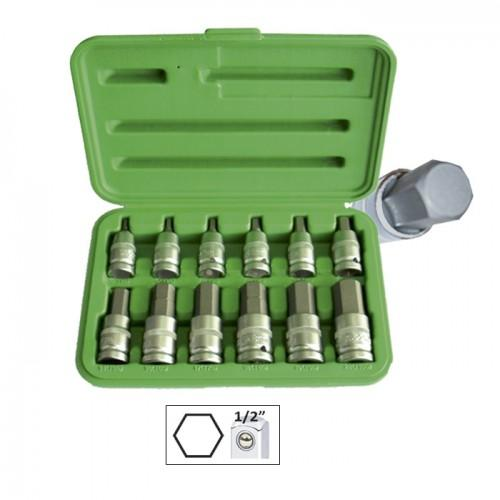 JBM-51260 12pc Socket Allen Kit Set