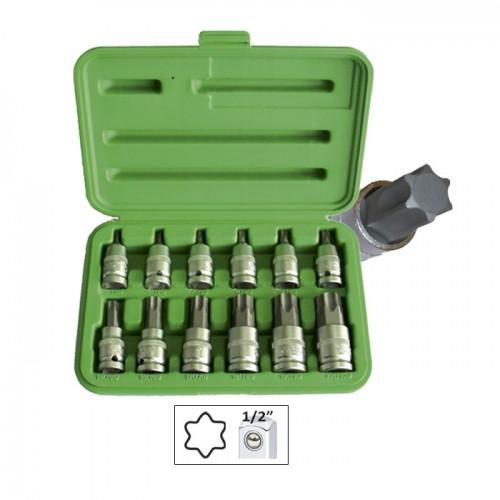 JBM-51261 12pc Socket Torx Kit Set