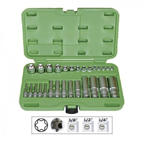 JBM-51930 28pc Torx Socket Set
