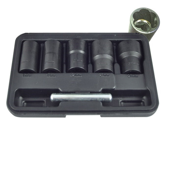 "Set Of Twist Sockets 1/2"" Drive 6pc"