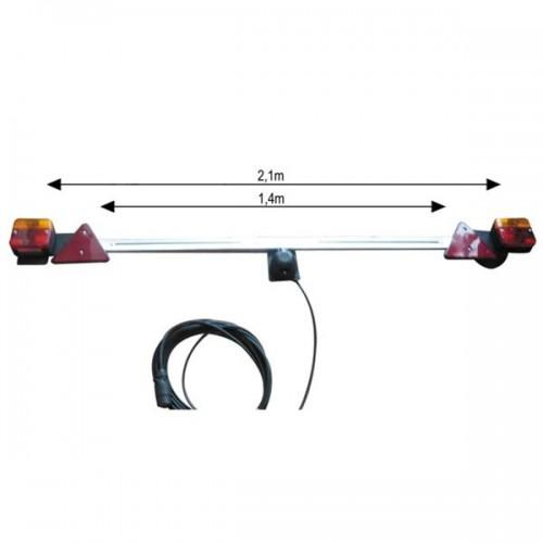 JBM-52458 Telescopic Trailer Bar