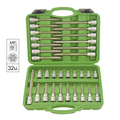 JBM-52606 32pc Bit Socket Set Ribe