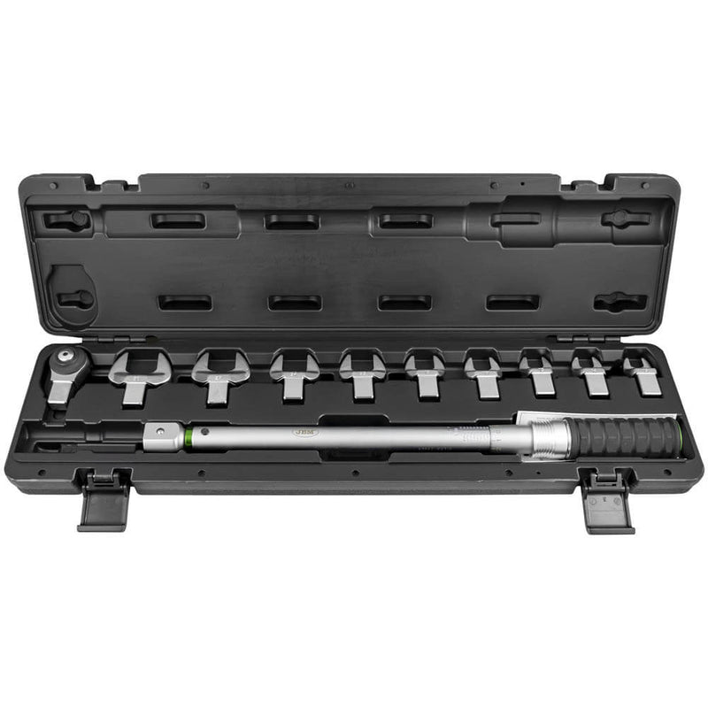 "Torque Wrench Set 1/2"" Drive 200NM Crow Foot Spanner Attachments 11pc - Sweeney Motor Factors"