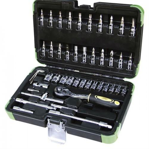 JBM-53201 Quarter Inch Drive 46pc Socket Set