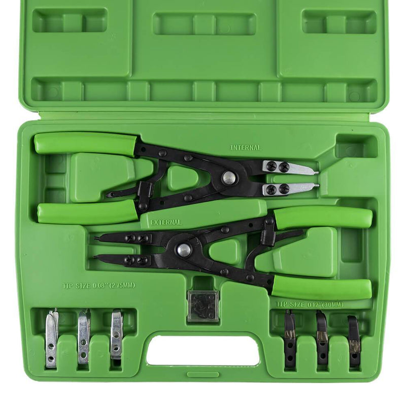 JBM-53389 Circlip Pliers Set With Interchangeable Heads