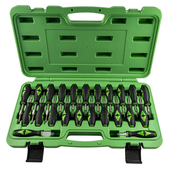 Automotive Electrical Terminal Remover Set 23pc Connector release Tool