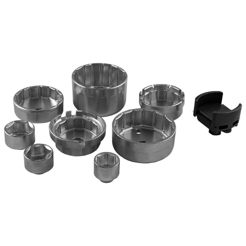 Oil Filter Cup Puller Set 9pc Wrench Oil Change New Type - Sweeney Motor Factors