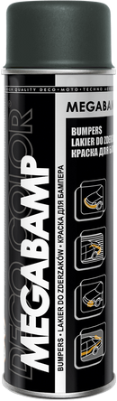 Professional Bumper Spray Paint 500ml Dark Grey - Deco Color Ireland