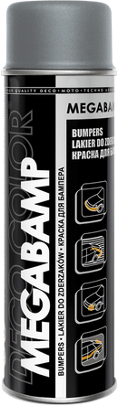 Professional Bumper Spray Paint 500ml Light Grey - Deco Color Ireland