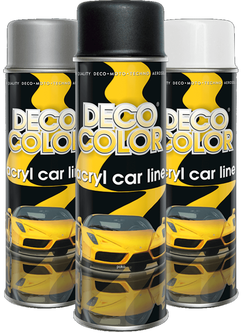Professional Fast Drying Acryl Car Line Range 5 Colours 500ml - Sweeney Motor Factors