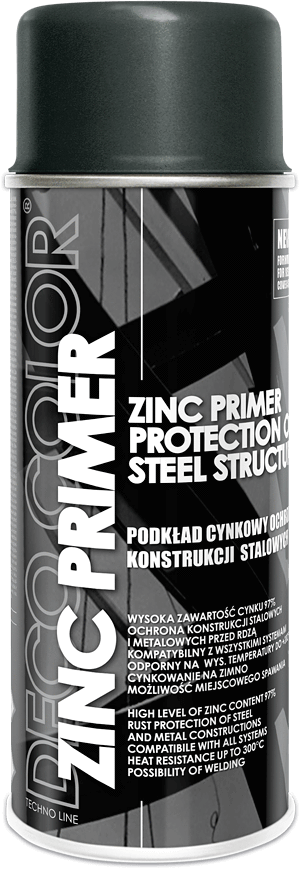 Zinc Primer Spray Paint High Content 97% 400ml - Sweeney Motor Factors