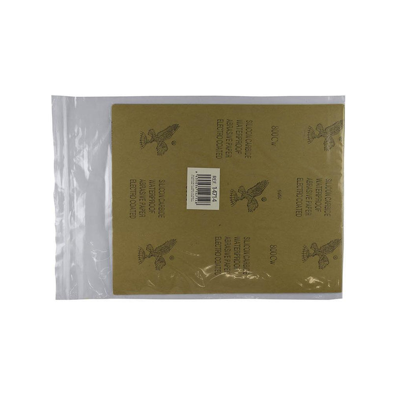 JBM-14714 Bag of 10 Abrasive Paper - Grain 800 Additional Image 2