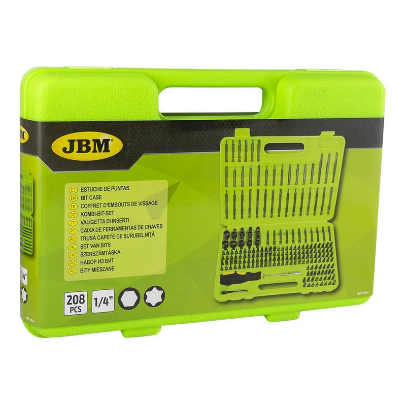 JBM-53574 208 Piece Bit Set Additional View 3-Sweeney Motor Factors