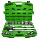 "JBM-53727 21 Piece Plastic Tool Case with 3/4"" Autocle 6-Point Sockets-Sweeney Motor Factors"