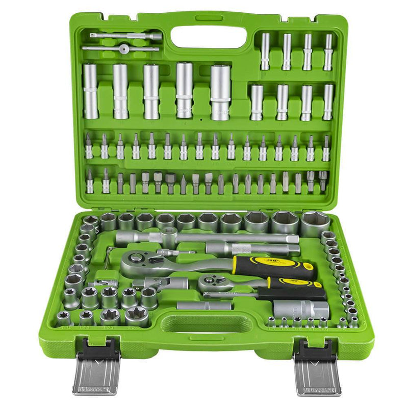 108 Piece Tool Kit with Hexagonal Sockets