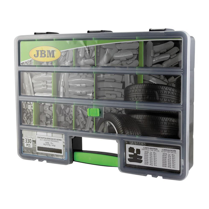 JBM-53864 Box- Assorted Wheel Weight Case Additional Image 2