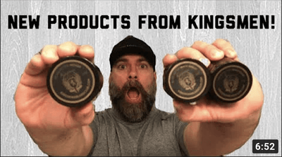 New Products From Kingsmen Beard Club | No BS Beard Reviews