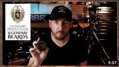 Kingsmen Beard Club BEARD BUTTER is Fantastic! - Brian's Badass Reviews