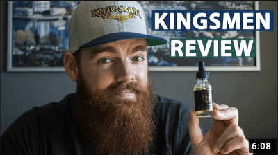 Kingsmen Holy Grail Oil Review | Oud Scented Beard Oil - BeardGuyBry